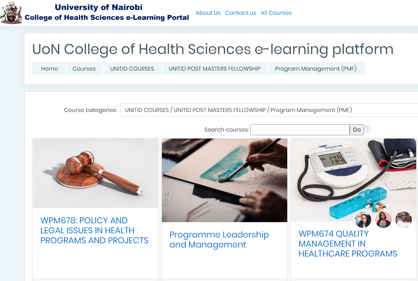 UON_COllege of Health Sciences