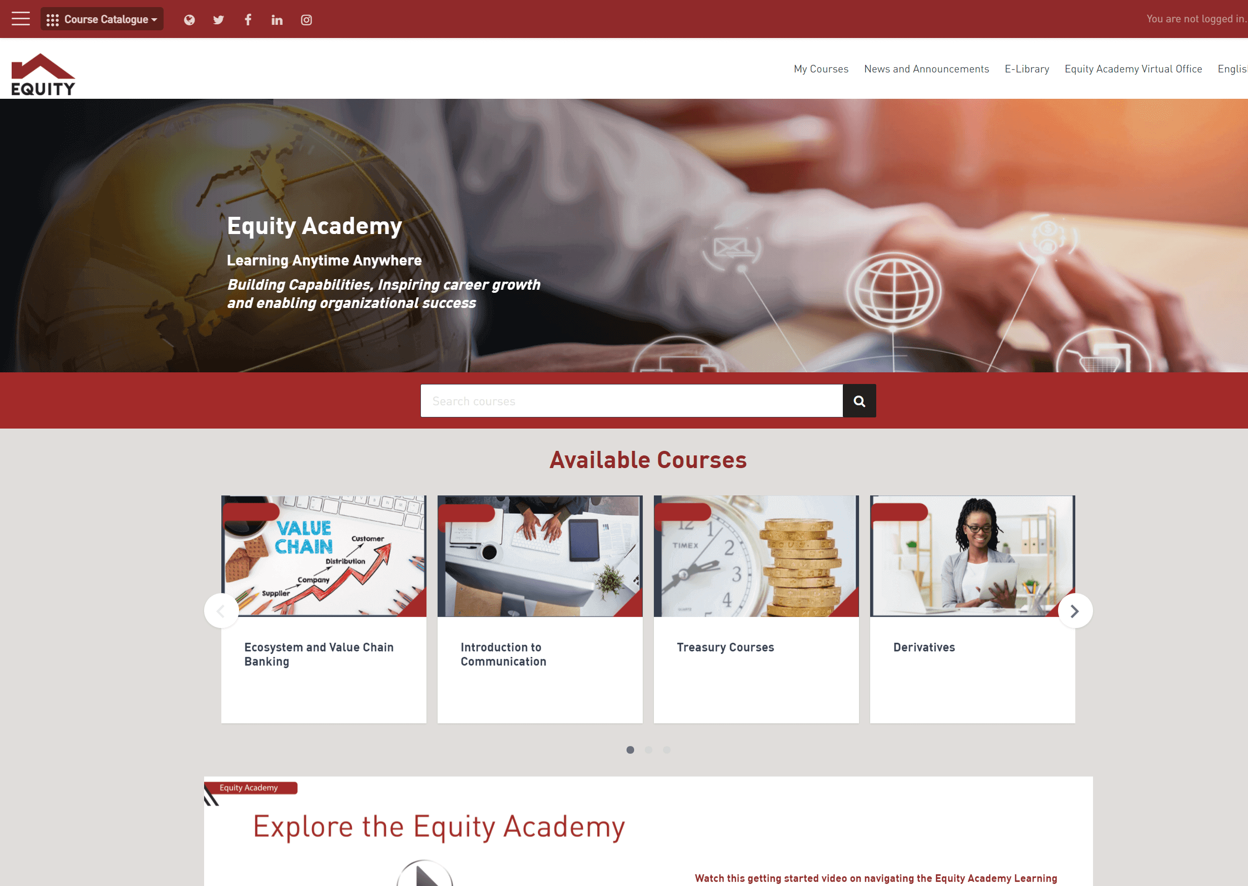 EQUITY BANK GROUP ELEARNING