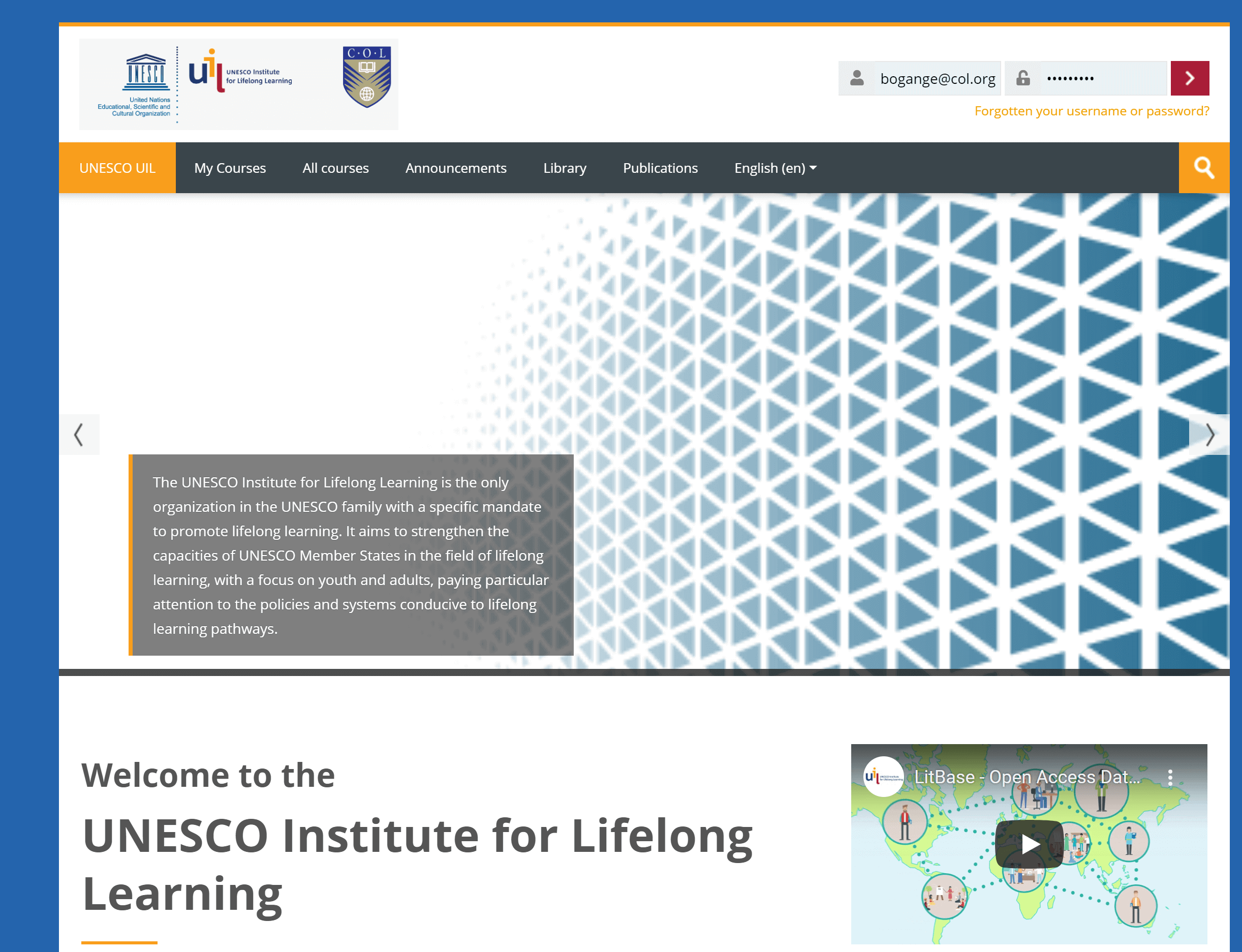 UNESCO INSTITUTE OF LIFELONG LEARNING