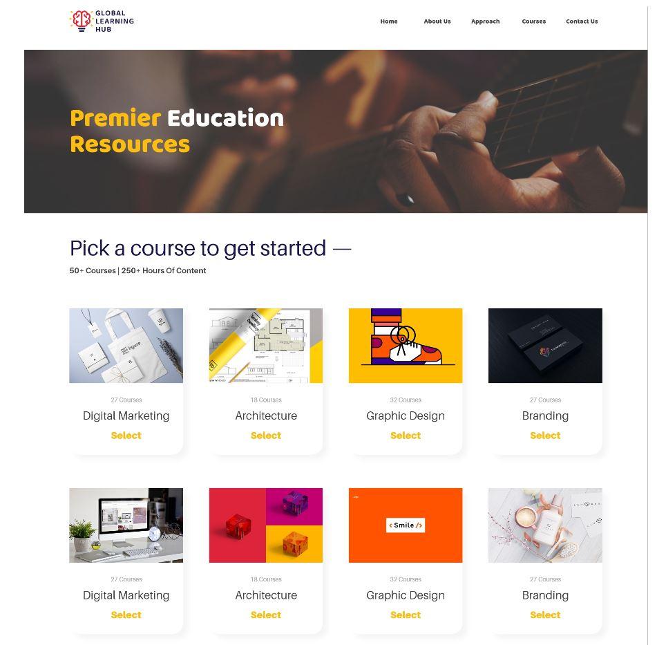 Global Learning Hub